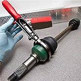 Rentable 2Pcs / Set Réparation automobile Outils colliers de serrage Type de câble Colliers de serrage + CV...