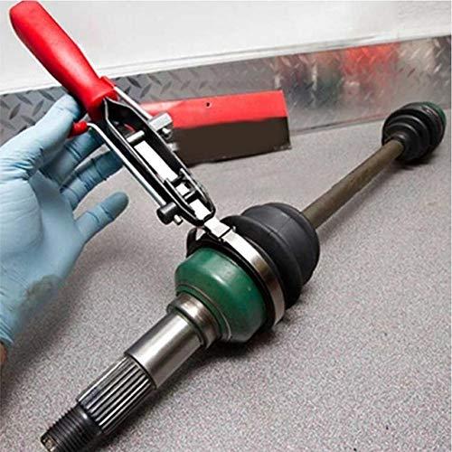 YITEJIA Kosteneffizient 2Pcs / Set Auto-Reparatur-Werkzeuge Kabeltyp Schlauchschellen Schellen + CV Joint Clamp Banding-Installations-Tool for die Reifenreparatur Clamp Removal Zange (Color