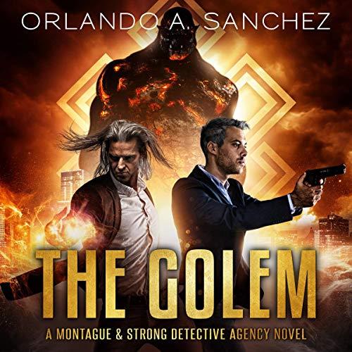 The Golem Audiobook By Orlando A. Sanchez cover art