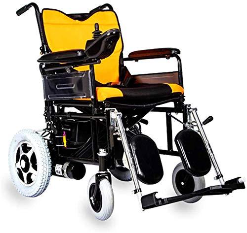 Silla de ruedas eléctrica plegable Silla de ruedas, silla de ruedas eléctrica - plegable ultra portable for ancianos discapacitados en silla de ruedas - Ultra Premium-Ligero - Personal Mobility auxili