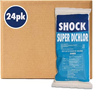 Puri Tech Stabilized Chlorine Granular Dichlor 99% 1lb 24 Pack