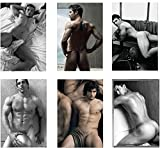 DIEUX DU STADE Set of 6 Sexy Hunks Refrigerator Magnets Fridge Magnets - French Rugby Team 001