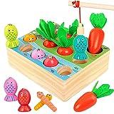 Juguetes Montessori Niños Aprendizaje, MMTX Juegos Educativos de Granja...