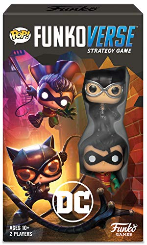 Funko Verse Strategy Board Game: DC Theme Set, Expansion Pack 2 Players