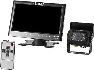 "Baosity 7"" Rear View Kit Monitor Diplay + Waterproof Reverse Car Backup HD Camera"