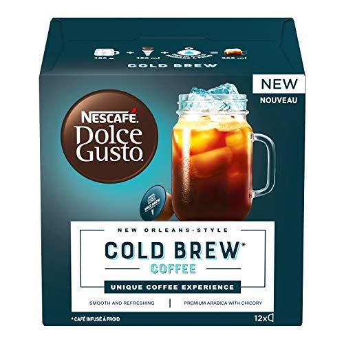 Nescafé Dolce Gusto Cold Brew Caffè Freddo Aromattizzato, 3 Confezioni da 12 Capsule (36 Capsule)