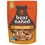 Bear Naked Granola NonGMO Kosher Vegetarian Friendly 11.2 Oz Pack , Honey Almond, 67.2 Ounce, (Pack of 6)