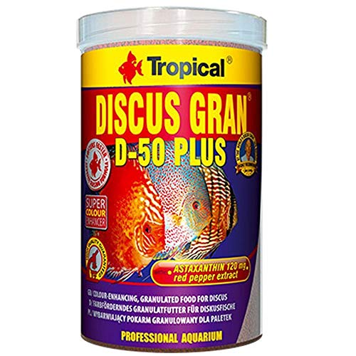 Tropical Discus Gran D 50 Plus, 1er Pack (1 X 1 L)