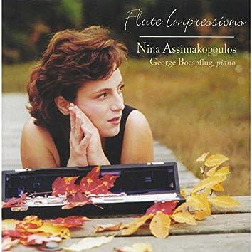 Dvořák, Ravel, Saint-Saens, Fauré, Chopin: Flute Impressions