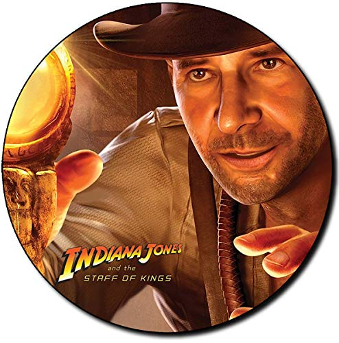 Indiana Jones and The Staff of Kings Alfombrilla Redonda Round Mousepad PC