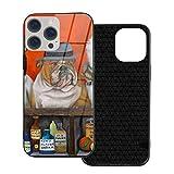 Animal Club Beer Bacon Howl Cat Dog Funda para iPhone 12 Funda de Vidrio Templado ultradelgada Diseñada para Iphone12-6.1 2020 Funda Protectora de TPU Suave para Evitar arañazos a Prueba de Golpes