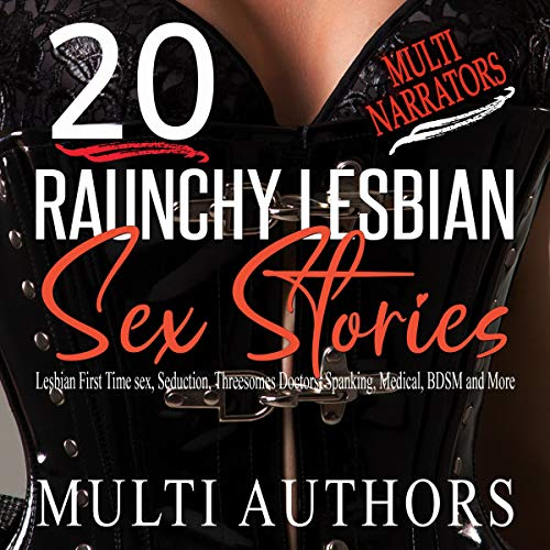 20 Raunchy Lesbian Sex Stories audiobook cover art