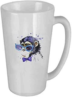 Watercolor Monkey Personality Fashion Coffee Tea Mug the perfect gift for family and friends 🎁, coffee cup 16oZ🏆