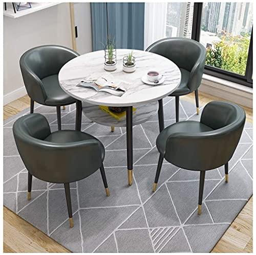 WANGQW Set da Tavolo da Pranzo per Cucina o dell'hotel, Tavolo da Pranzo Set Set Semplice Semplice Reception Tavolo e Sedia Combinazione di sedie TOTTORY TOTATION TOTATICY Table TABELLO Office