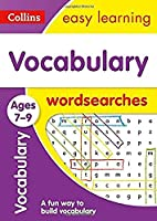 Vocabulary Word Searches Ages 7-9: Ideal for Home Learning (Collins Easy Learning KS2)