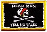 Flaggen Aufnäher Pirat Dead men tell no tales Fahne Patch