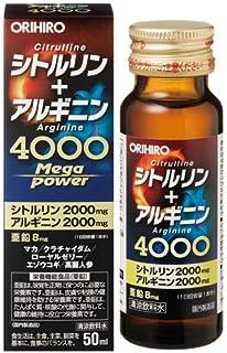 オリヒロ シトルリン+アルギニン Mega Power 4000 50ml×5個セット