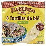 Old El Paso - 8 Tortilla de Blé 326 g - Lot de 6