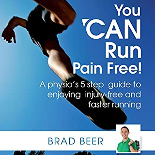 You Can Run Pain Free! audiobook cover art