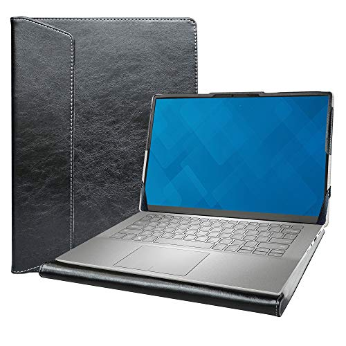 "Alapmk Diseñado La Funda para 14"" ASUS Q427FL/Asus Chromebook Flip C436/Asus ZenBook 14 UX425JA & DELL Inspiron 14 7490 Laptop[No Compatible con: Latitude 7490/Asus C434/Asus Q406DA Q407IQ],Negro"