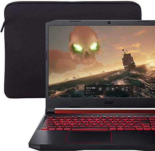 2019 ACER Nitro 5 15.6' FHD IPS Gaming Laptop | Intel Quad-Core i5-9300H Upto 4.1GHz | 8GB RAM | 256GB SSD Boot + 1TB HDD | GTX 1050 3GB GDDR5 | Backlit Keyboard | Included: Sleeve | Windows 10