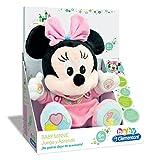 Clementoni- Animales de Cine y Television Peluche Juega y aprende Minnie, Color Rosa (65192.4)