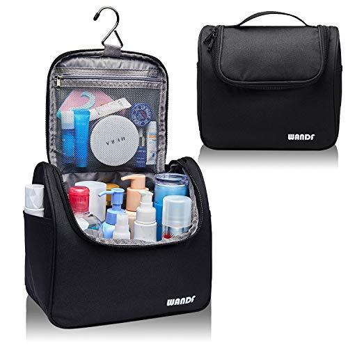 WANDF Hanging Toiletry Bag Travel Cosmetic Organizer Shower Bathroom Bag...