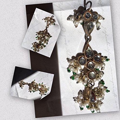 Crystal Hair Jewelry / Crystal Tikka Headpiece / Tikka Headpiece / Crystal Chain Headpiece / Bridal Tikka Headpiece by custom jewelry wedding