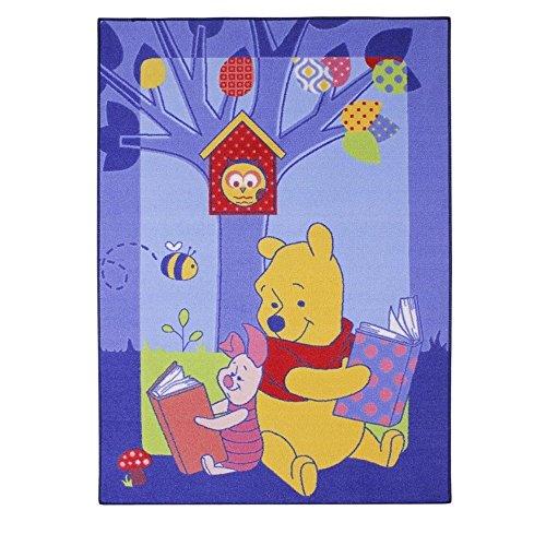 GUIZMAX Compatible avec Tapis Enfant Winnie l'ourson 133 x 95 cm Disney Story