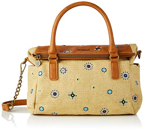 Desigual Fabric Hand Bag, Mano Mujer, marrón, U