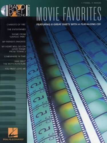 Piano Duet Play-Along Volume 2: Movie Favourites. Für Klavier, Klavier vierhändig