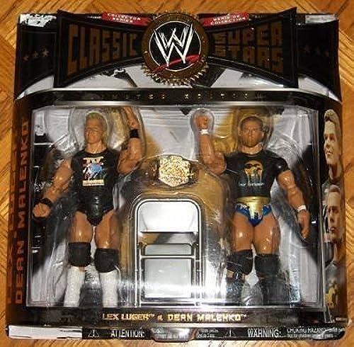 colores increíbles WWE Jakks Pacific Lucha Libre Clásico SUPERSTARS Exclusivo Serie 7 7 7 Figura de acción pack de 2 Lex Luger y Dean malenko  venta al por mayor barato