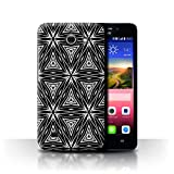 Phone Case for Huawei Ascend Y550 LTE Black Fashion