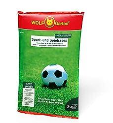 WOLF-Garten - Saatgut, LG 250 Sport- und Spielrasen für 250 m², 3825030