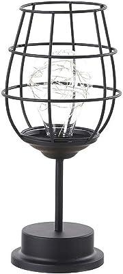 Lámpara de mesa lámpara Lámpara de escritorio creativa del arte ...