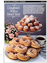 McCall's Cooking School Recipe Card: Breads 14 - French Crullers & Beignets (Replacement McCall's Recipage or Recipe Card For 3-Ring Binders)