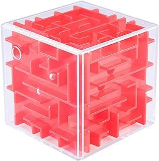 迷路 立体迷路 パズル 暇つぶしキューブ 密閉安全 キューブ型 立体迷路ゲーム こども 脳トレ 知育玩具 6面完成 色の暗示 辛抱強い養成 手目脳同期 冷静沈着