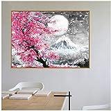 A&D Mount Fuji Kirschblüte Landschaft Japan Leinwand