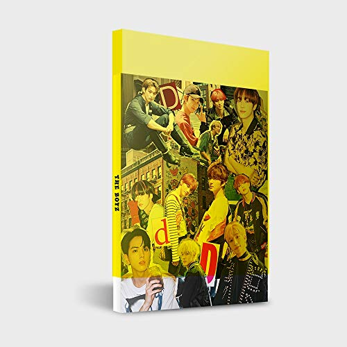Cre.ker Entertainment The Boyz - Dreamlike [DIY ver.] 4-TES Mini-Album CD + 92p Fotobuch + 12p Foto Zine + Fotokarte + Postkarte + Aufkleber + doppelseitiges Extra Fotokartenset