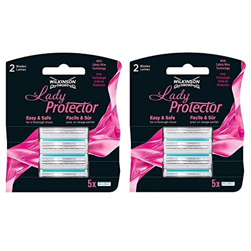 Wilkinson Sword–10Lady Protector Replacement Blades (2x 5Pack)