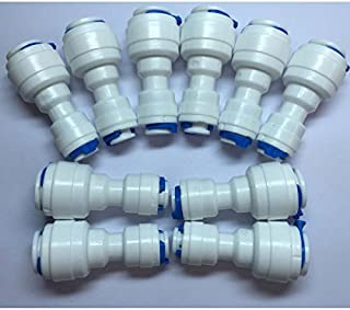 YZM Quick Connect fittings RO Water Filters set of 10 (straight,1/4