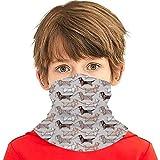 hdyefe Origami Dachshunds - Pañuelo de salchicha para perros con textura de lino, color gris