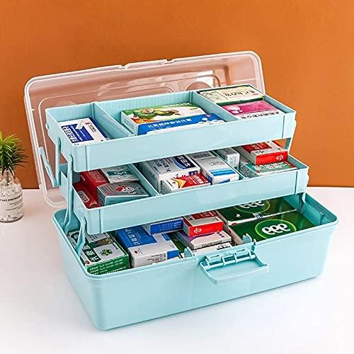 MUY Family Erste Hilfe Medizinische Kunststoff Aufbewahrungsbox Große Kapazität Schublade Diverses Organizer Tragbare Medizin Notfall Kit Aufbewahrungsbox Aufbewahrungsbox