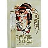 ED HARDY LOVE & LUCK by Christian Audigier EAU DE PARFUM SPRAY VIAL ON CARD MINI