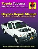 Toyota Tacoma 2005 thru 2018 Haynes Repair Manual (Haynes Automotive)