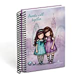 Agenda escolar 2018 - 2019 Gorjuss - Friends Walk Together, rosa