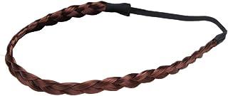 Bodhi2000 - Fascia per capelli con trecce elastiche e sintetiche