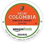 AmazonFresh 80 Ct. K-Cups, Decaf Colombia Medium Roast, Keurig K-Cup Brewer Compatible