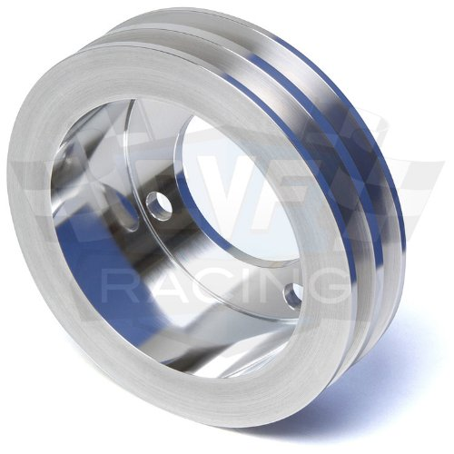 Crankshaft Pulley for Ford Racing Short Water Pump, 2V, V-Belt