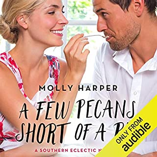 A Few Pecans Short of a Pie                   Written by:                                                                                                                                 Molly Harper                               Narrated by:                                                                                                                                 Amanda Ronconi                      Length: 2 hrs and 49 mins     3 ratings     Overall 4.3